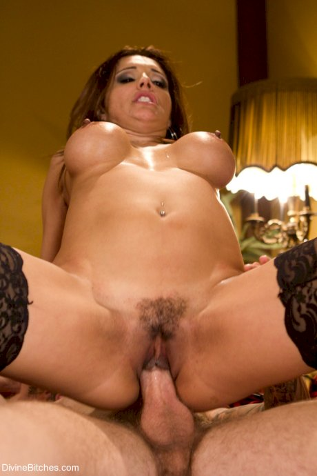 Latina wife Francesca Le makes her cuckold watch her riding a huge dick