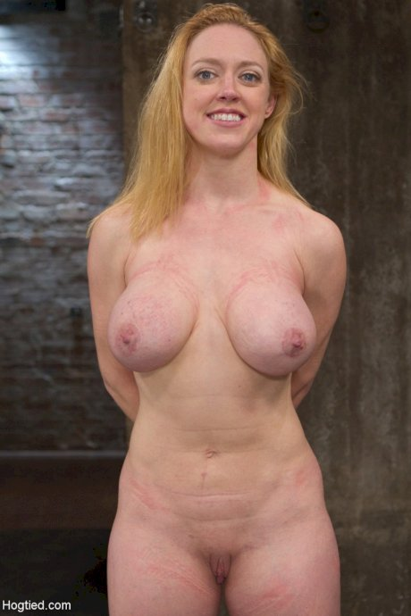 Big Titted Redhead Dee Williams Endures Mega Pain In Predicament Bondage Porndude 1