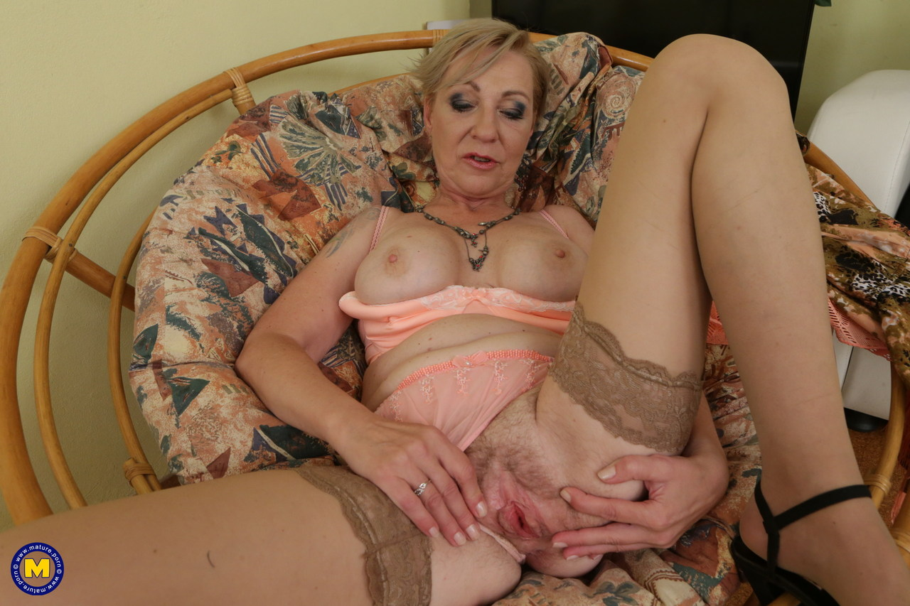 Granny Showing Her Nipples