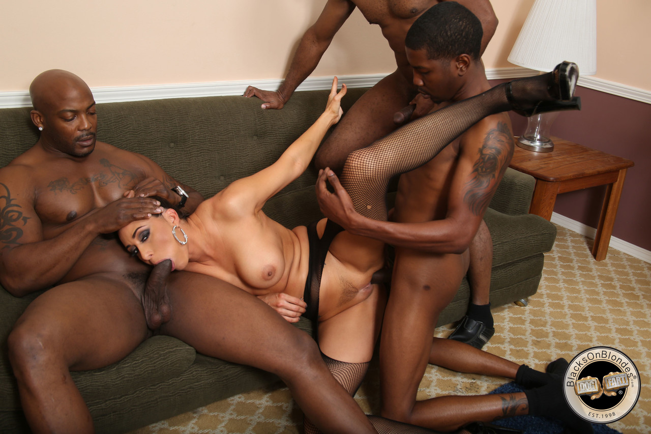 White boy black girl creampie
