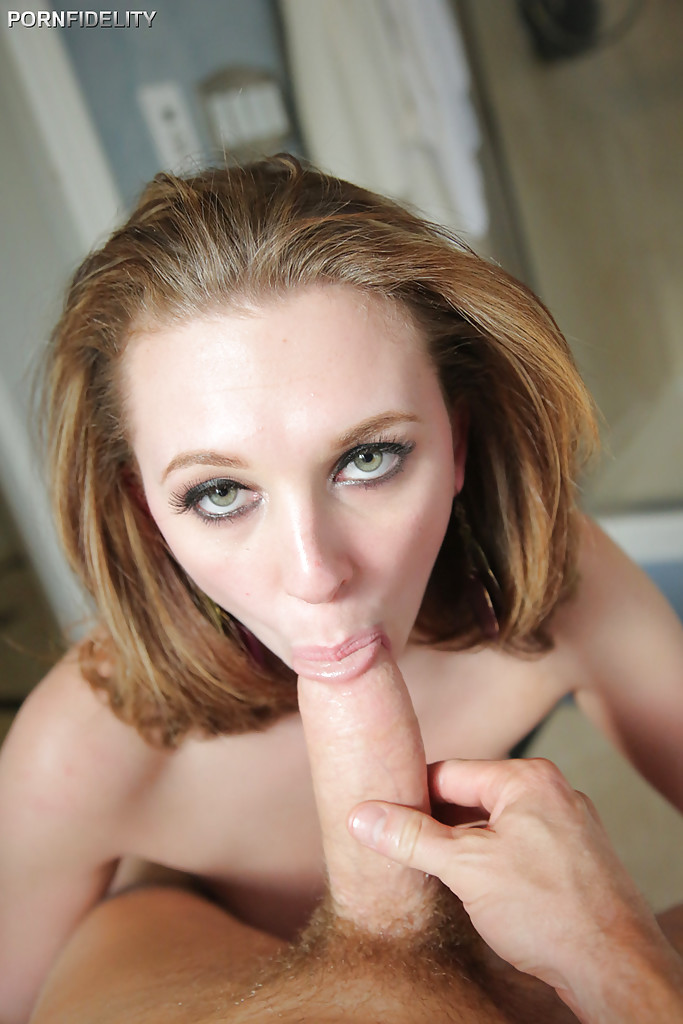 Brooke Wylde Feasts On Dick During Pov Blowjob Pichunter Drunkenstepfather 1