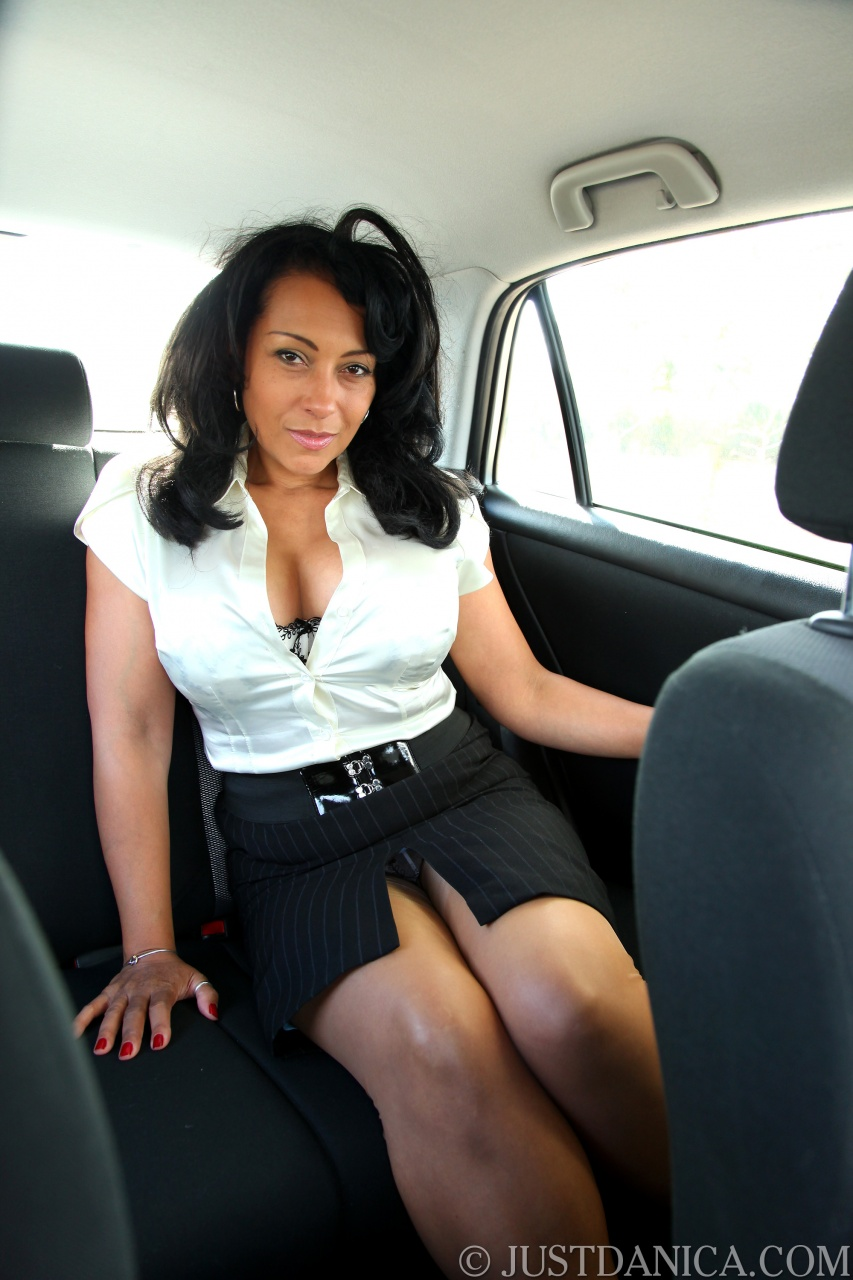 Sexy Milfs In Cars