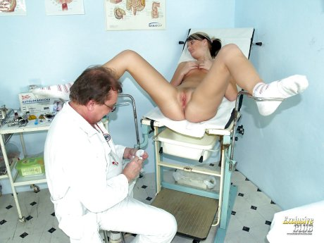 Nasty Misa wants to play with her doctor in naughty games